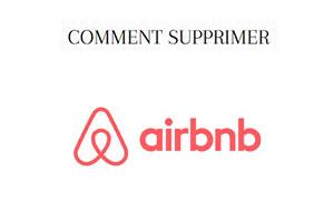comment supprimer un compte Airbnb