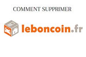 comment supprimer un compte leboncoin?