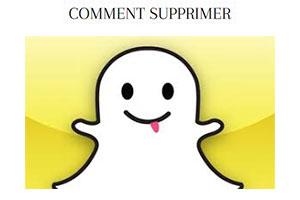 comment supprimer un compte snapchat