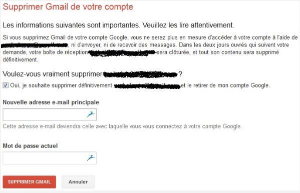 Comment Supprimer Son Compte Gmail Google Definitivement