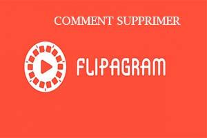 comment supprimer un compte flipagram