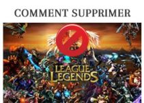 supprimer un compte League of Legends/Lol