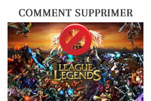 supprimer un compte League of Legends/Lol