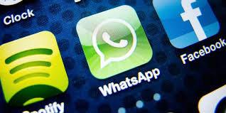 accès à l'application whatsapp