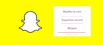 bloquer ami sur snapchat