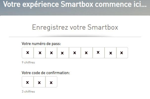 comment enregistrer une smart box