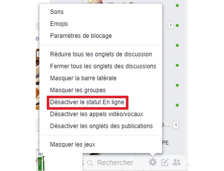Fb Messenger: comment se déconnecter