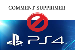 Comment supprimer mon compte play station 4
