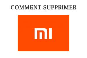 Comment supprimer le compte Mi.com de Xiaomi