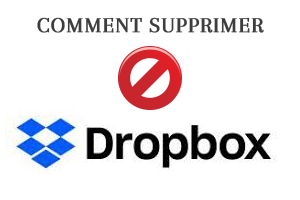 comment supprimer drop box