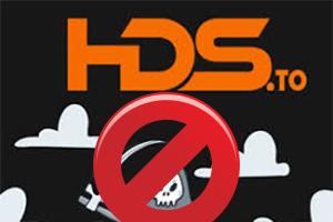 HDS.to bloqué