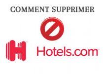 Comment supprimer un compte hotels.com