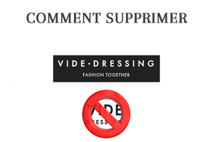 Comment supprimer un compte Vide Dressing