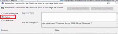 bloquer la synchronisation des fichiers