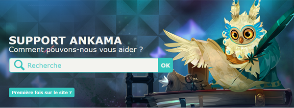 Contacter le support Ankama