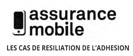 Les condition de résiliation d'une cfca assurance mobile