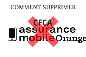 Résilier assurance mobile CFCA Orange