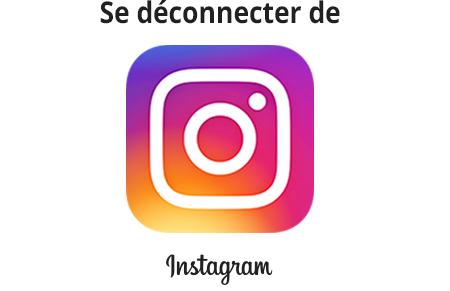 Comment se déconnecter de son compte Instagram?