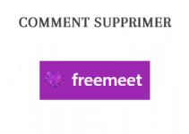Comment supprimer un compte Freemeet?