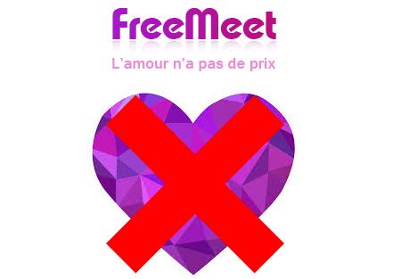 Me désinscrire du site de rencontre en ligne Freemeet