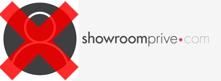 Supprimer compte showroomprivé