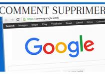 supprimer des suggestions google de la barre de la saisie automatique