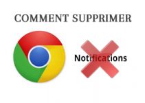 Désactiver les notifications dans Google Chrome