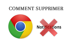 Désactiver les notifications dans Google Chrome
