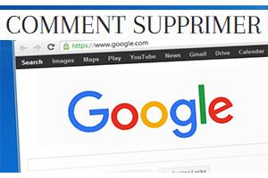 effacer le suivi d'activité sur Google