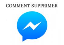 Comment supprimer un message envoyé sur Messenger
