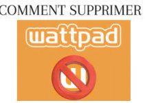 Comment supprimer un compte wattpad