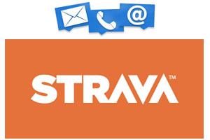 Contact service client Strava