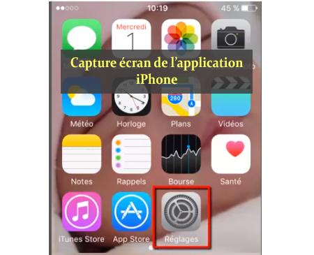 Suppresssion de l'historique Safari depuis la rubrique Réglages sur iPhone