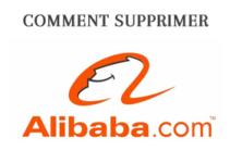 suppression compte alibaba aliexpress