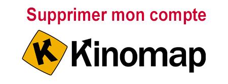 Comment supprimer un compte kinomap?