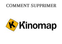Supprimer mon compte personnel sur www.kinomap.com/fr