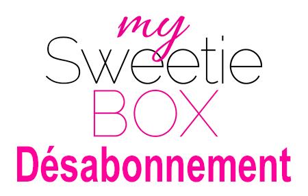 Comment se désabonner de My Sweetie Box?