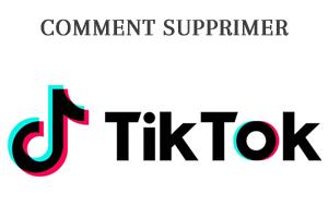 Comment supprimer une vidéo TikTok ?